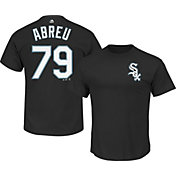 Majestic Men's Chicago White Sox Jose Abreu #79 Black T-Shirt