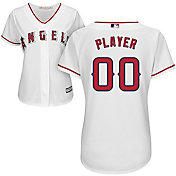 Majestic Women's Full Roster Cool Base Replica Los Angeles Angels Home White Jersey