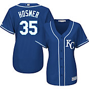 Majestic Women's Replica Kansas City Royals Eric Hosmer #35 Cool Base Alternate Royal Jersey
