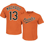 Majestic Youth Baltimore Orioles Manny Machado #13 Orange T-Shirt
