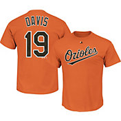 Majestic Youth Baltimore Orioles Chris Davis #19 Orange T-Shirt