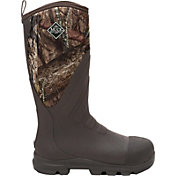 Muck Boot Men's Woody Grit Mossy Oak Country Steel Toe Rubber Hunting Boots