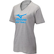 Mizuno Women's V-Neck Softball T-Shirt
