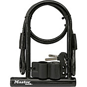 Master Lock Bike U-Lock and Cable
