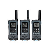 Motorola 20 Mile Talkabout T200 Two-Way Radio Pack – 3 Pack