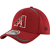 New Era Men's Arizona Diamondbacks 39Thirty Red Reflectaline Stretch Fit Hat