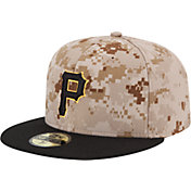 New Era Men's Pittsburgh Pirates 59Fifty Alternate Camo Authentic Hat