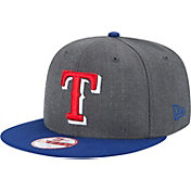 New Era Men's Texas Rangers 9Fifty Grey Adjustable Hat