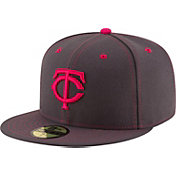 New Era Men's Minnesota Twins 59Fifty 2016 Mother's Day Authentic Hat
