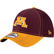 New Era Men's Minnesota Golden Gophers Maroon/Gold Team Front Neo 39Thirty Hat