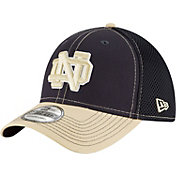 New Era Men's Notre Dame Fighting Irish Navy/Gold Team Front Neo 39Thirty Stretch Fit Hat
