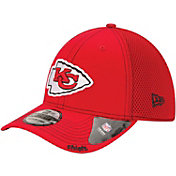 New Era Men's Kansas City Chiefs 39Thirty Neo Red Flex Fitted Hat
