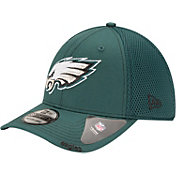 New Era Men's Philadelphia Eagles 39Thirty Neoflex Green Stretch Fit Hat