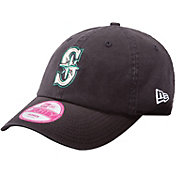 New Era Women's Seattle Mariners 9Forty Essential Navy Adjustable Hat