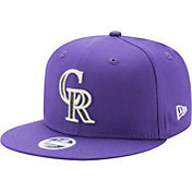 New Era Women's Colorado Rockies 9Fifty Team Glisten Adjustable Hat