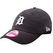 New Era Women's Detroit Tigers Essential 9Forty Navy Adjustable Hat