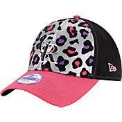 New Era Youth Girls' Colorado Rockies 9Forty Cheetah Chic Adjustable Hat