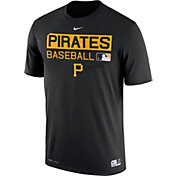 Nike Men's Pittsburgh Pirates Dri-FIT Authentic Collection Black Legend T-Shirt