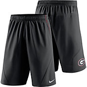 Nike Men's Georgia Bulldogs Black Fly XL 5.0 Football Sideline Shorts