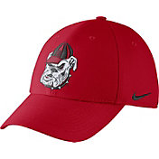 Nike Men's Georgia Bulldogs Red Vault Dri-FIT Swoosh Flex Hat