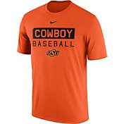 Nike Men's Oklahoma State Cowboys Orange Team Issue Legend Baseball T-Shirt