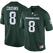 Nike Men's Kirk Cousins Michigan State Spartans #8 Green Replica College Alumni Jersey