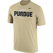 Nike Men's Purdue Boilermakers Old Gold Football Icon Legend T-Shirt