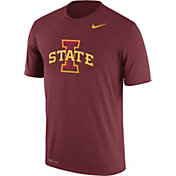 Nike Men's Iowa State Cyclones Cardinal Logo Dry Legend T-Shirt