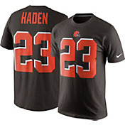 Nike Men's Cleveland Browns Joe Haden #23 Pride Brown T-Shirt