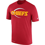 Nike Men's Kansas City Chiefs Legend Icon Performance Red T-Shirt