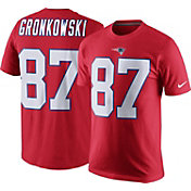 Nike Men's New England Patriots Rob Gronkowski #87 Pride Red T-Shirt