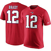Nike Men's New England Patriots Tom Brady #12 Pride Red T-Shirt