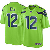 Nike Men's Color Rush 2016 Limited Jersey Seattle Seahawks Fan #12