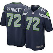 Nike Men's Home Game Jersey Seattle Seahawks Michael Bennett #72