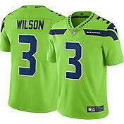 Nike Men's Color Rush 2017 Limited Jersey Seattle Seahawks Russell Wilson #3