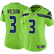 Nike Women's Color Rush 2017 Limited Jersey Seattle Seahawks Russell Wilson #3