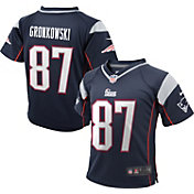 Nike Toddler Home Game Jersey New England Patriots Rob Gronkowski #87