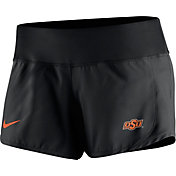Nike Women's Oklahoma State Cowboys Black Gear Up Crew Performance Shorts