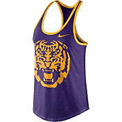 Nike Women's LSU Tigers Purple Dri-Blend Tank Top