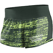 Nike Women's Michigan State Spartans Green Crew Performance Shorts