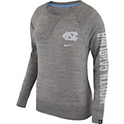 Nike Women's North Carolina Tar Heels Grey Vintage Crew Sweatshirt