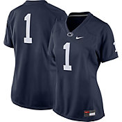 Nike Women's Penn State Nittany Lions #1 Blue Game Football Jersey