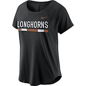 Nike Women's Texas Longhorns Modern Fan 2.0 Performance Black T-Shirt