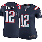Nike Women's Color Rush 2017 Legend Jersey New England Patriots Tom Brady #12
