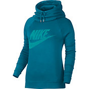 Nike Women's Sportswear Rally Funnel Neck Graphic Hoodie