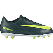 Nike Kids' Mercurial Vortex III CR7 FG Soccer Cleats