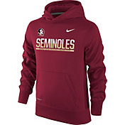 Nike Youth Florida State Seminoles Garnet Therma-FIT Hoodie