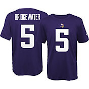 Nike Youth Minnesota Vikings Teddy Bridgewater #5 Purple T-Shirt