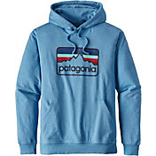 Patagonia Men's Line Logo Badge Lightweight Hoodie