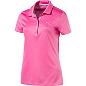PUMA Women's Jacquard Golf Polo